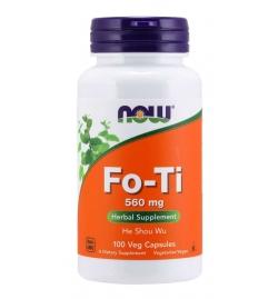 Now Foods Fo-Ti 560 mg 100 Veg Capsules