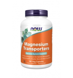 Now Foods Magnesium Transporters 180 Veg Capsules