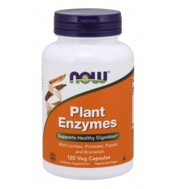 Now Foods Plant Enzymes 120 Veg Capsules