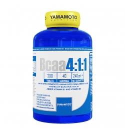 Yamamoto  Nutrition BCAA 4:1:1 200 Tablets