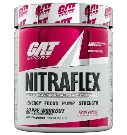 GAT Sports Nitraflex Pre Workout 30 Servings