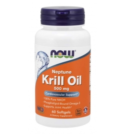 Now Foods Neptune Krill Oil 500 mg 60 Softgels