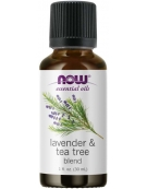 Now Foods Lavender & Tea Tree Essential Oils 30ml
