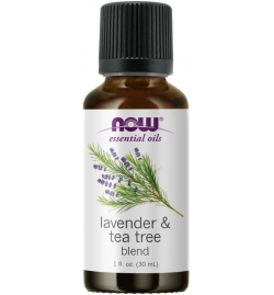 Now Foods Lavender & Tea Tree Essential Oils 30ml