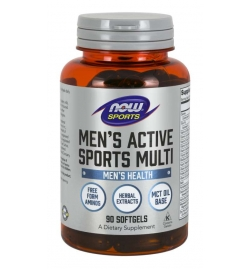 Now Sports Men's Active Sports Multi 90 Softgels