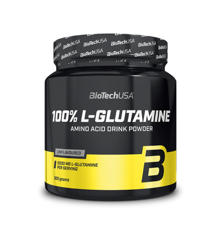 Biotech USA 100% L-Glutamine 500G