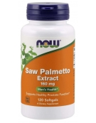 Now Foods Saw Palmetto Extract 160mg 120 Softgels