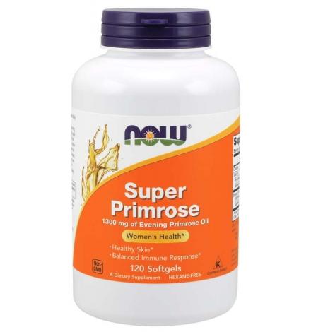 Now Foods Super Primrose 1300mg 120 Softgels