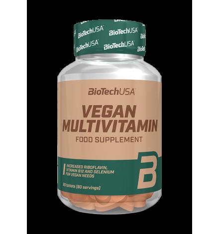 BioTech USA Vegan Multivitamin 60 Tabs