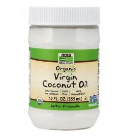 Now Foods Organic Virgin Coconut Oil 355ml