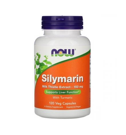 Now Foods Silymarin Milk Thistle Extract 150 mg  60 Veg Capsules