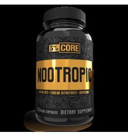 Rich Piana 5% Nutrition Nootropic Core Serier 120 Caps