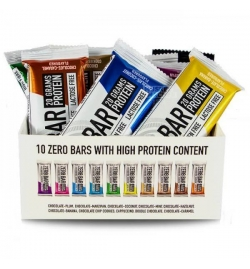 Biotech USA Kit Zero Bars With Native Whey Mix flavors 10 pieces