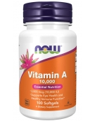 Now Foods Vitamin A 10,000 IU 100 Tablets
