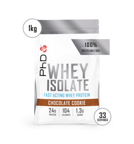 PhD Whey Isolate 1 kg