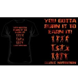 T-Shirt Scitec YOU GOTTA - BLACK/ORANGE