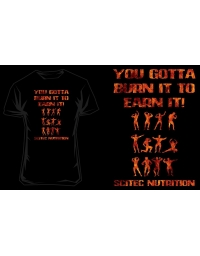 T-Shirt Scitec YOU GOTTA - BLACK/ORANGE