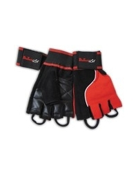 GLOVES MEMPHIS_1 RED/BLACK
