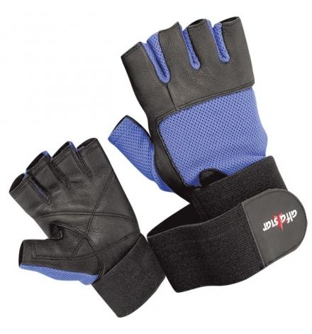 Gloves Alfa Star Art: AS-100/W Black/Blue